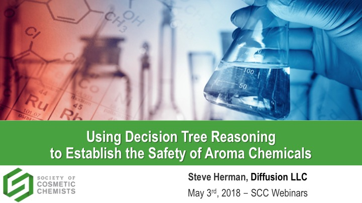 Using Decision Tree Reasoning to Establish the Safety of Aroma Chemicals