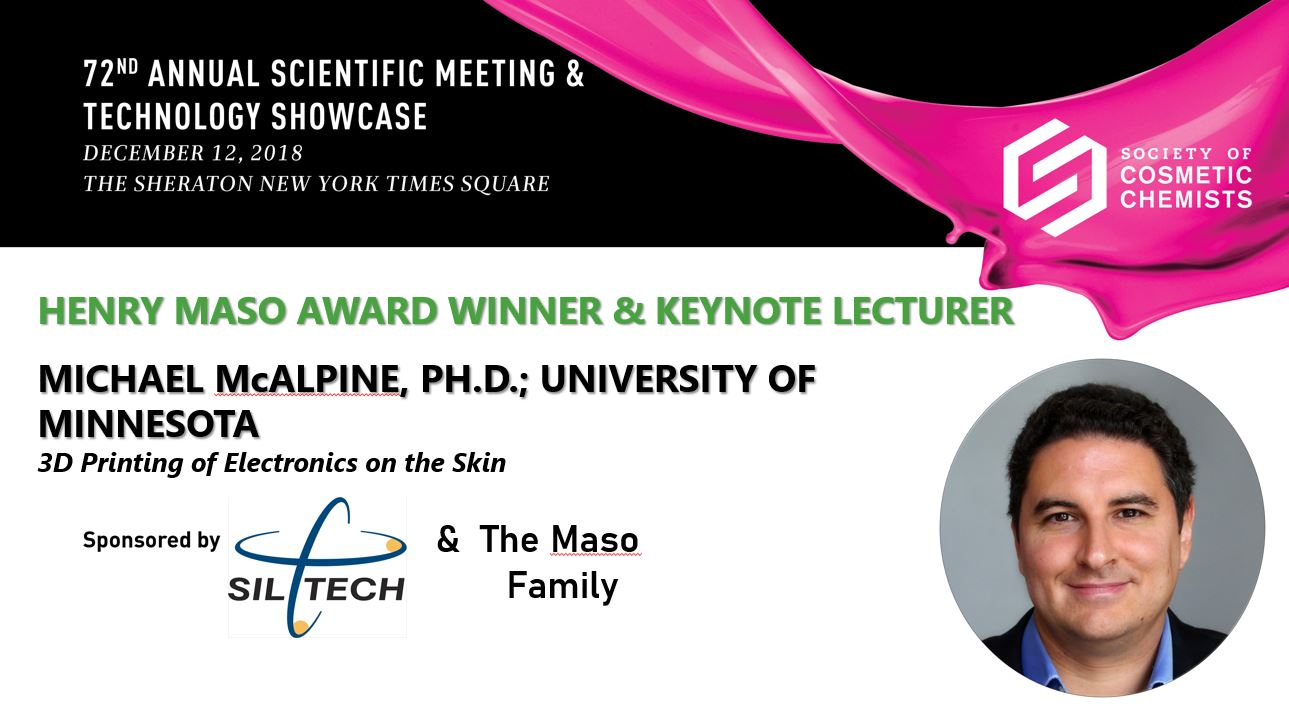 KEYNOTE LECTURE - 3D Printing Electronics on the Skin