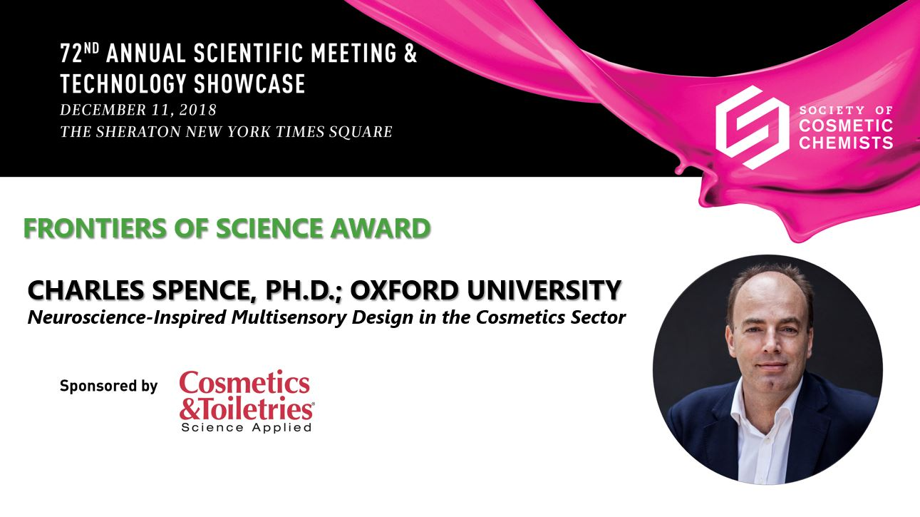 KEYNOTE LECTURE - Neuroscience-Inspired Multisensory Design in the Cosmetics Sector