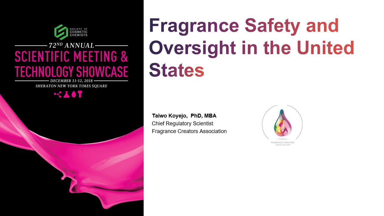 Responsibility Makes Scents: Fragrance Safety and Oversight in the United States
