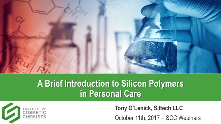 A Brief Introduction to Silicone Polymers in Personal Care